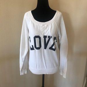 Sweaters - White Crewneck