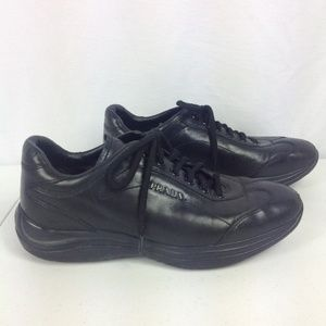 Authentic Prada Black Sneakers Size 36 Lace Up