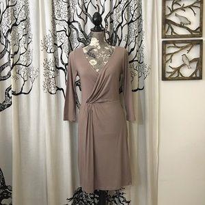 Anthropologie Velvet Soft Midi Dress