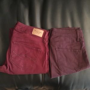 Bundle of Abercrombie Super Skinny Jeans