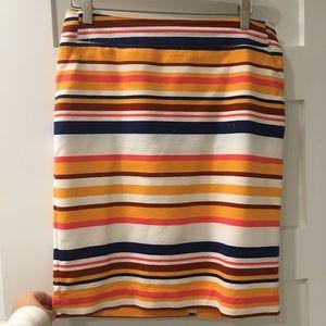 Merona Striped Skirt