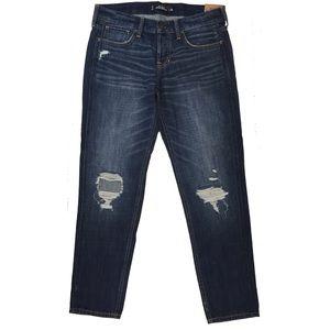 Hollister vintage boyfriend jeans distressed nwt