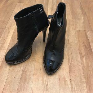 Chanel Cap-Toe booties