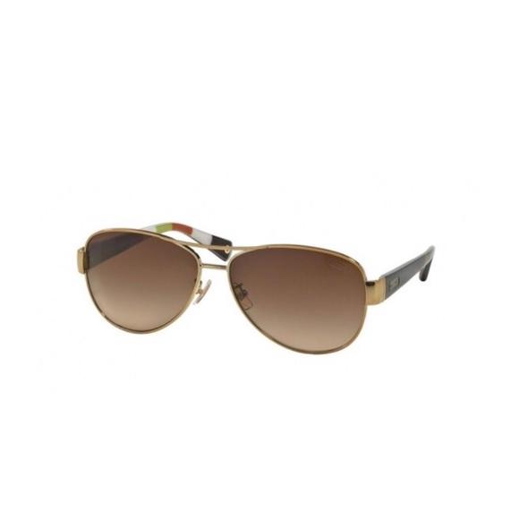 2fa479c547 Coach Accessories - Coach Kristina Polarized Sunglasses Gold Brown