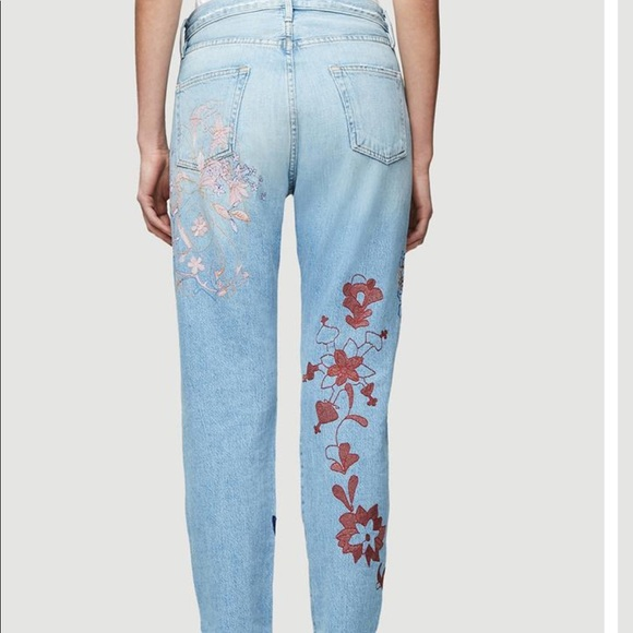 Frame Denim Jeans - Frame Denim Embroidered Jeans NWT