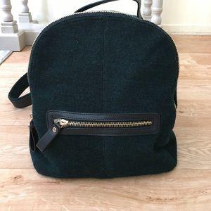 🆕 Zara Emerald Backpack - NWOT!