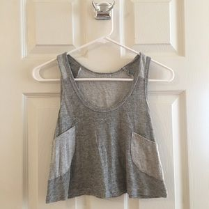 Urban Outfitters Crop Top With Pockets!