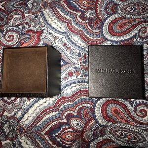 Micheal Kors Watch Boxes
