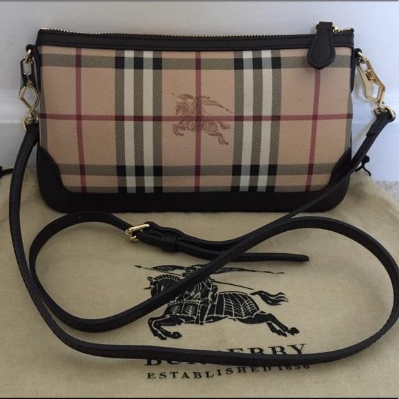 dc42a6b3192 Burberry Handbags - NWOT Burberry haymarket check Peyton cross body