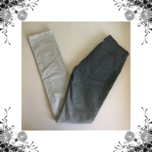 {J Brand} The Pencil Leg Gray Ombre Skinnies
