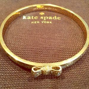 Kate Spade New York Glitter Bow Bangle