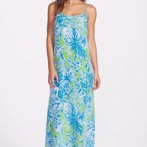 Lilly Pulitzer Jaylene Maxi Dress in Limeade