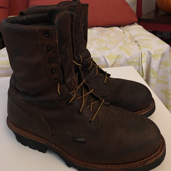 f15f7163eea Red Wing 4417 Loggers Size 13 D