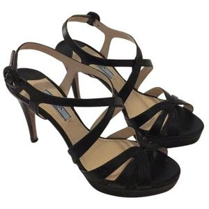 Prada Calzature Donna Nero - Black Platform Heels