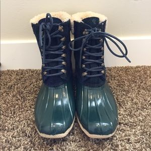 Like New Sperry Topsider for J Crew Boots Size 9