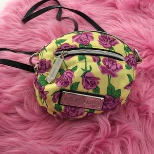 NWT Betsy Johnson strap mini bag