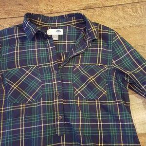 Old Navy Plaid Shirt - small