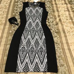 Pretty body con dress