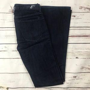 Earnest Sewn dark bootcut jeans size 26
