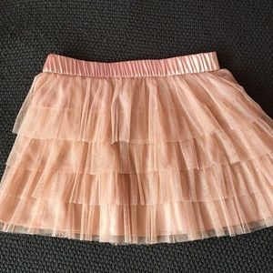 Forever 21 New/no tags pink tulle layered skirt.