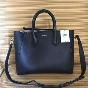 acfb2d39f643 Michael Kors Collection Bags - MK Helena Large French Calf Satchel