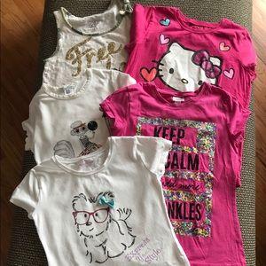Other - Girls t-shirt bundle size 10