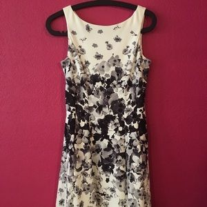 Maggy London Floral Dress Size 2