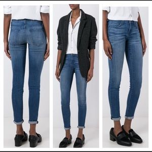 Current/Elliott the Skinny stonewash Jeans