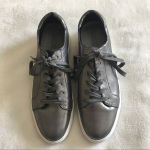 Kenneth Cole Reaction Metallic Sneakers NWT
