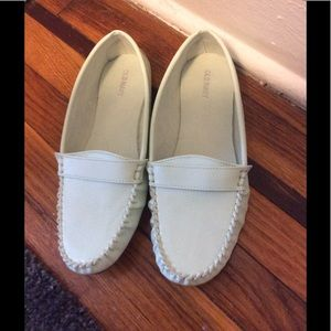 Mint Green Loafers 10