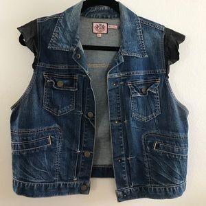 Chic Juicy Couture Jean Vest