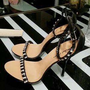 Cute black Diamond heels