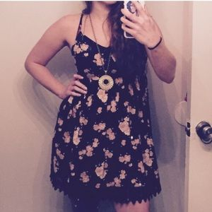 URBAN OUTFITTERS Floral Babydoll Dress