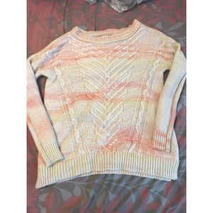 Cute long sleeve knitted sweater