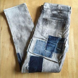 H&M &Sqin Jeans