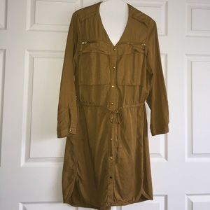 H&M Conscious collection colored denim dress
