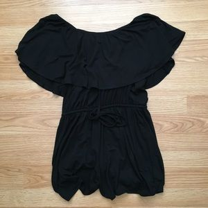 Old Navy Romper off-the-shoulder Small Petite 2017