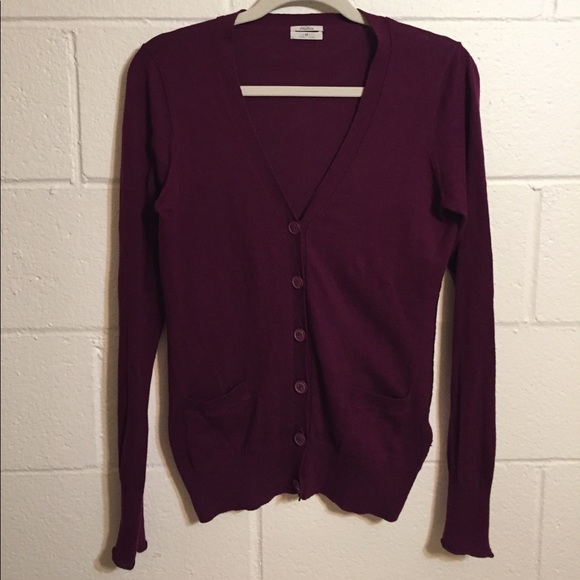 Madewell - 🍇MADEWELL Wallace Cotton Boyfriend Cardigan from ...