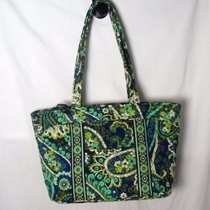 Vera Bradley Mandy Tote Rhythm and Blues Print New