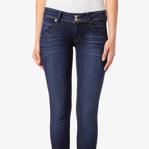 <Hudson> Collin Flap Skinny Jeans Blue