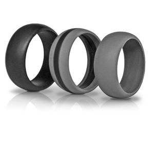 3 Silicone Wedding Rings