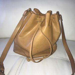 Madewell leather crossbody bag