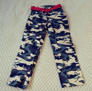 NWOT camo jeans