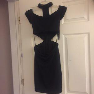 NWT Express size 4 mini dress with choker