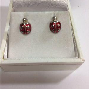Jewelry - Adorable Lady Bug Stud Earrings