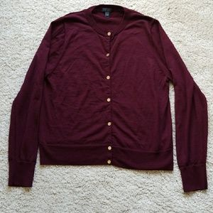 J.crew cardigan sweater size  XL