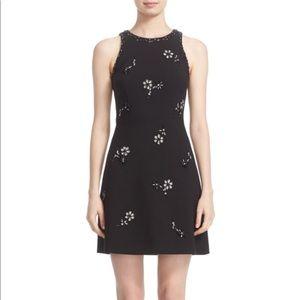 Kate spade black embellished/ jeweled dress