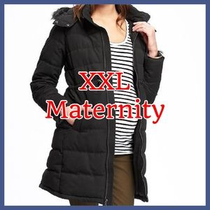 ♥️ Stay warm maternity Winter Coat Old Navy ♥️