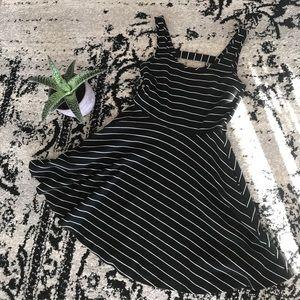 Mimi Chica Black and White striped dress