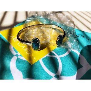 GOLD ELTON PINCH BRACELET—KENDRA SCOTT